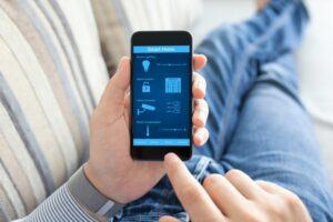 Konzeptbild - Bedienung auf dem Handy
